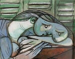 Picasso dormeuse aux persiennes